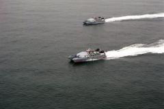 IJmuiden Noordzee Hameeda Bee highspeed craft Tille scheepswerf 1991 lfh 91092501