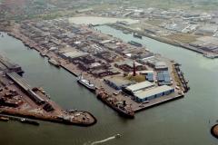 Ijmuiden havens Zeehaven 1991 lfh 91101514