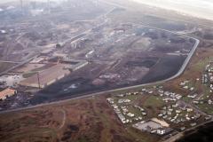 Wijk aan Zee Hoogovens Heckett terrein met camping Rolands duin 1992 lfh 92030305