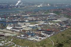 IJmuiden Industrieterrein Haven  Hoogovens Sluizen 1992 lfh 92050437