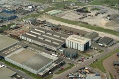 IJmuiden Industrieterrein; Genius bedrijfshal 1992 LFH 92050610