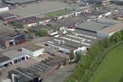 Beverwijk industrie terrein wijkermeerweg Spanjaart meubel randweg 1992 LFH 92051536