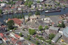 Haarlem Spaarne omgeving koepel disselkade papentoren vest 1992  lfh 92051811