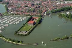 Hoorn Oostereiland Buitenhaven Hoofdtoren 1992 lfh 92051853