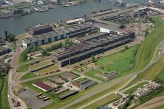 Alblasserdam Nedstaal staalfabriek 1992  lfh 92051908