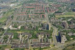 IJmuiden Velsen Zeewijk woonwijk overzicht 1992 LFH 92052623