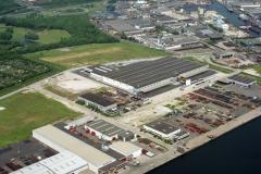 Velsen-Noord industrie terrein Wijkermeer Deka distributie centrum 1992   lfh 92052630