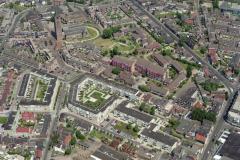 Beverwijk Wijkertoren en omgeving Lommerlust Peperstraat Koningstraat 1992 lfh 92052665