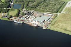 Velsen-noord Orca base Volstuincomplex Wijkeroog 1992 lfh 92091433