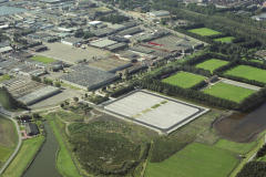 Beverwijk Industrieterrein Bazar parkeerplaatsen parallelweg 1992 lfh 92091444