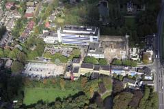 Beverwijk Rodekruis ziekenhuis vondelllaan tijdens de bouw 1992 lfh 92091457