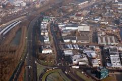 Beverwijk Parallelweg meubelboulevaar haven industrie terrein 1992 lfh 92122934