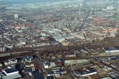 Beverwijk Overzicht vanaf haven 1992 lfh 92122943