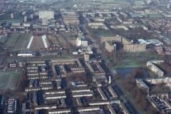 Beverwijk overzicht omgeving laan der Nederlanden 1992 lfh 92122945