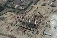 Alkmaar bouw huisvuil centrale HVA 1993 lfh 93041613-002
