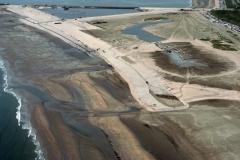 IJmuiden aanleg Seaport Marina IJmuiderstrand 1993