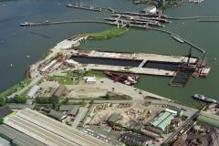 Amsterdam Oranje sluis Willem Alexander bouw 1993