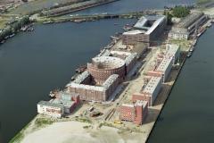 Amsterdam KNSM eiland bouw 1993