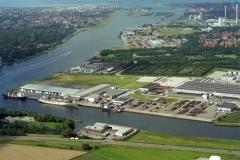 Velsen-Noord Beverwijk Industrie terrein Wijkermeer Offshore Koelvries huizen 1993