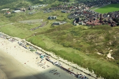 Wijk aan Zee overzicht vanaf strand 1993