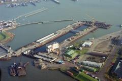 Oranje sluizen bouw Amsterdam 1993