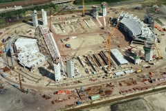 Amsterdam Zuid-Oost bouw Arena 1994