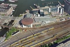 Amsterdam Centrale verkeersleiding NS KvK gebouw Havenkantoor 1994