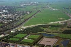 Beverwijk Broekpolder Industrie terein sportvelden Beverwijk 1994