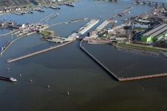 Amsterdam Schellingwoude bouw Oranje sluis 1995   95020204-007