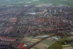 Castricum overzicht richting noord 1995 LFH 95033129-016