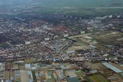Heemskerk Overzicht van westen Waterakkers 1995 LFH 95033131-017