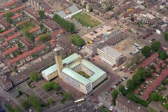 Velsen Stadhuis uitbereiding bouw 1995  LFH 95051611-031