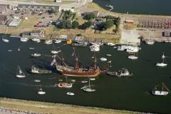 IJmuiden sail Amsterdam 1995 de Batavia sail-in 1995 lfh 95081058