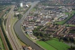 Zwanenburg Halfweg Industrie terrein suiker fabriek 1995 lfh 95091418