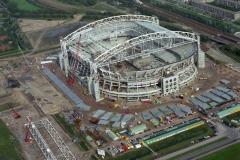 Amsterdam Arena bouw Ajaxstadion 1995 lfh 95100211