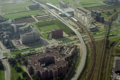 Amsterdam sloterdijk station bouw spoorlijnen 1995 lfh 95100226