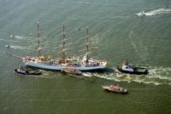 Sail Amsterdam 1995 Pools zeilschip DAR MLODZIEZY