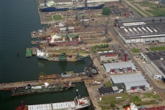 Amsterdam Shipdock werf NDSM 1996 lfh 96060339-018