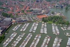 Monnicken dam Haven Jachthaven jachten schepen toerisme 1996 lfh 96060369-024