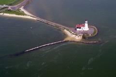 Marken het Paard vuurtoren IJsselmeer toerisme 1996 lfh 96060384-028