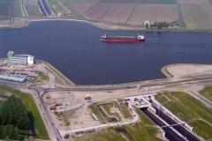 Velsen Beverwijk Wijkertunnel Wijenblick bouw 1996 lfh 96060506-030