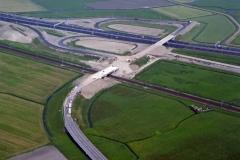 Heemskerk A9 viaduct T 50 bouw 1996 lfh96060522-031