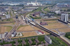 Amsterdam Sloterdijk station en omgeving 1996 lfh 96061724-043