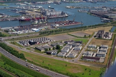 Amsterdam havens Alpha driehoek Vlothaven Coen haven 1996 lfh 96061729-044