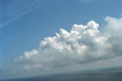 Noordzee Wolken 1996 lfh 96070762-062
