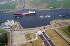 Velsen Opening Wijkertunnel 1996  lfh 96071103-065