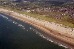 Wijk aan Zee Strand recreatie drukte Kust 1996 lfh 96080258-072