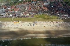 Egmond aan Zee  Strand drukte recreactie kust 1996 lfh 96080261-073