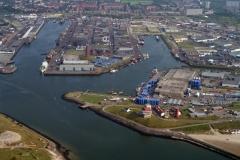 IJmuiden Havens overzicht 1996 lfh 96082009-081