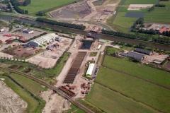 Alphen aaan de Rijn Alphen Aquaduct bouw 1996 lfh 96090512-083